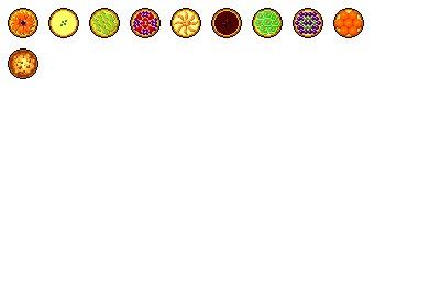 Fruits Tart Icons
