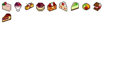 Spring Sweets Icons