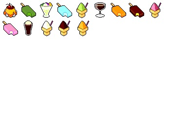 Summer Sweets Icons