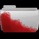 Folder Bloody Gray icon