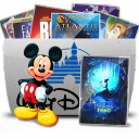 Folder TV Disney icon