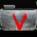 Folder TV V icon