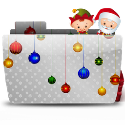 Folder Xmas Santa with Bag icon