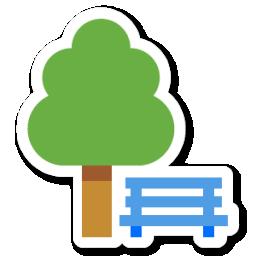 Park Icon Swarm App Sticker Iconset Sonya