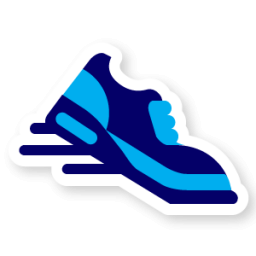 Running Icon Swarm App Sticker Iconset Sonya