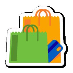Shopping Icon Swarm App Sticker Iconset Sonya