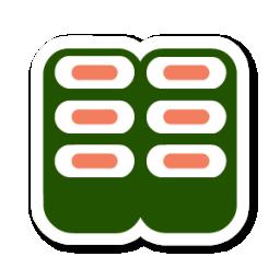 Sushi Icon Swarm App Sticker Iconset Sonya