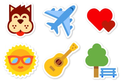 Swarm App Sticker Icons