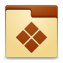 Places folder wine icon