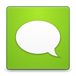 Apps gwibber icon