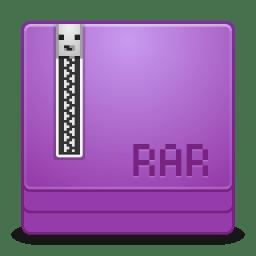 Mimes application x rar icon
