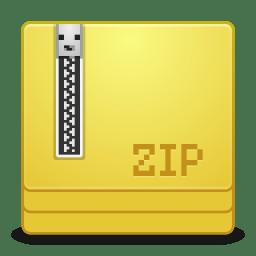 Mimes application x zip icon