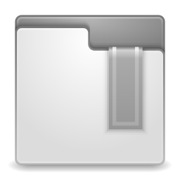 Places bookmark missing icon