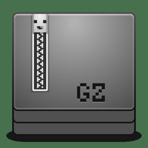Mimes application x gzip icon
