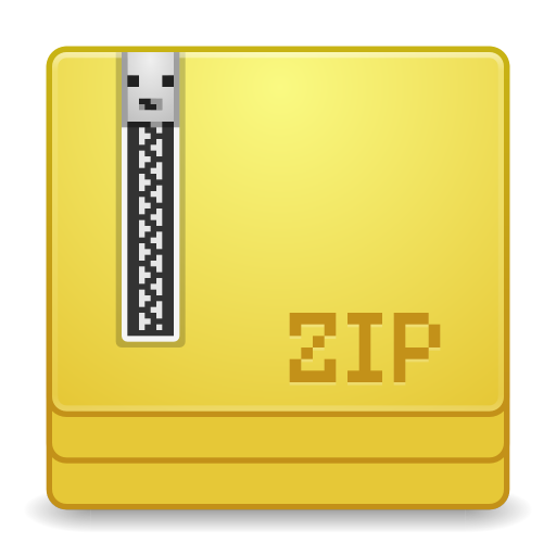 Mimes application x zip icon