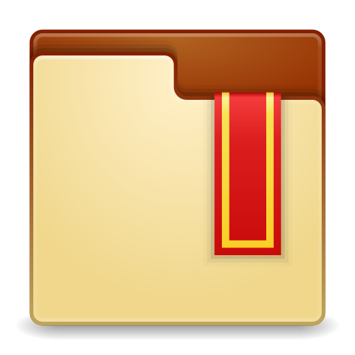 Places-user-bookmarks icon