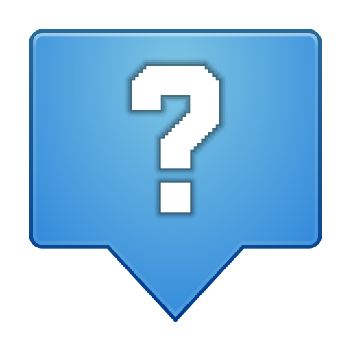 Status-dialog-question icon