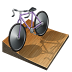 Cycling-track icon