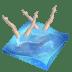 Swimming-synchronized icon