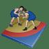 Wrestling-greco-roman icon