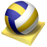 Beach-volley icon