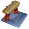Gymnastics-artistic icon