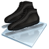 Speed-skating icon