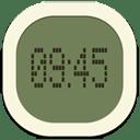 Clock digital 2 icon