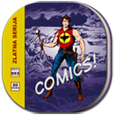 Comic book icon