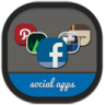 Folders-social icon