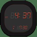 Clock digital icon