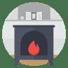 Fire-stove icon