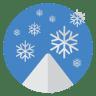 Snow-flakes icon