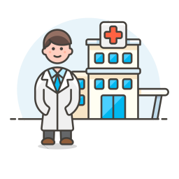 Doctor Hospital Icon Streamline Ux Free Iconset Streamline Icons