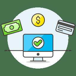 Monitor Cash Credit Card Icon Streamline Ux Free Iconset Streamline Icons