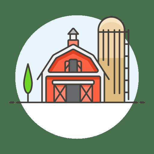 Farm-barn icon