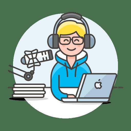 Radio-host icon