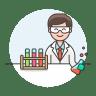 Lab-scientist icon