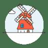 Netherlands-windmill icon
