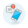 Phone-new-message icon