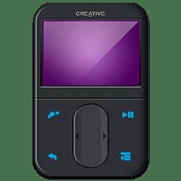 Creative Zen Black Front icon