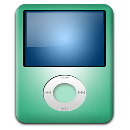 iPod Nano Lime icon