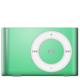 iPod Shuffle Green icon