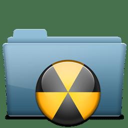 Folder Burn icon