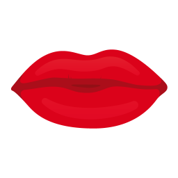 Kiss Lips Icon Love Is In The Web Valentine Iconset Succo Design