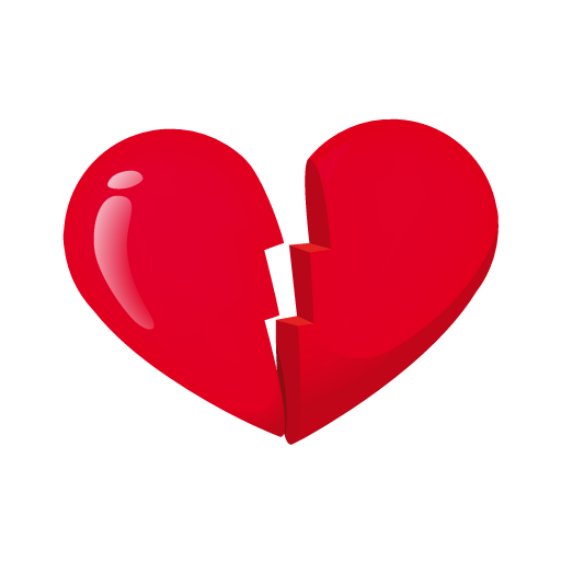 Heart-broken icon