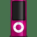 iPod nano magenta icon