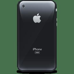 iPhone retro black icon