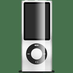 iPod nano white icon