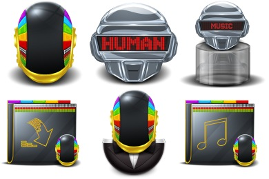 Daft Punk Super Icons